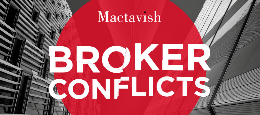 Broker Conflicts Report