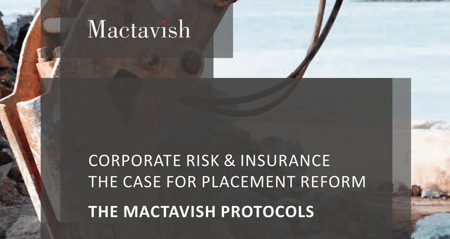 Corporate Risk Insurance: The Case For Placement Reform