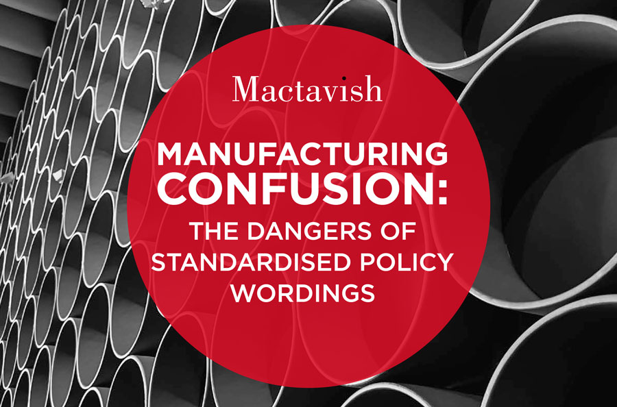 Policy Standardisation Report